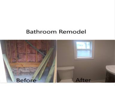 Our key staff handles every aspect of the pre-construction and construction phases including scheduling, permitting, material delivery, plumbers and provides updates on progress & being held to the highest standard. We remodel bathrooms as well as construct new bathrooms as an addition to your home.
