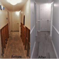 Our drywall services restore homes and creates new decor in a home. UHS renders all drywall services from insulation, drywall hanging, drywall repair to drywall finishing especially after fire, flood and wind damage. Highly rated in new homes, room additions, patio enclosures & garage installations.